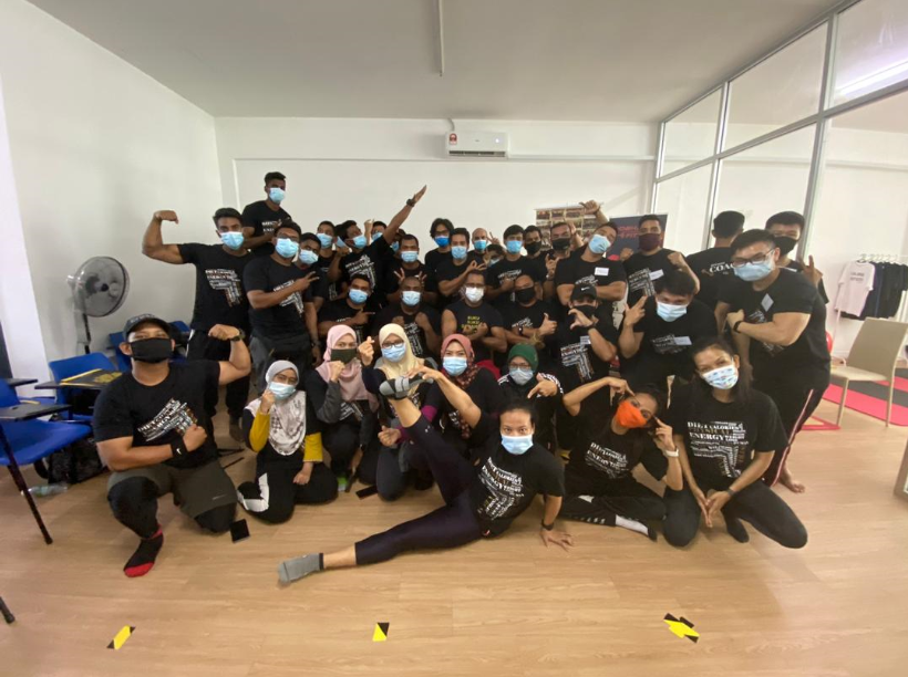 CFI Bangi Collaboration With Fit Fit